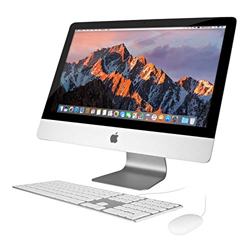 (Renewed) Apple iMac 21.5in 2.7GHz Core i5 (ME086LL/A) All In One Desktop, 8GB Memory, 1TB Hard Drive, Mac OS X Mountain Lion