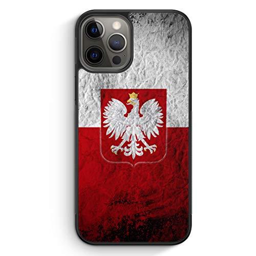 Polen Splash Flagge Polska Poland - Silikon Hülle für iPhone 12 Pro - Motiv Design...