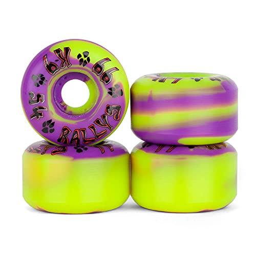 Dogtown Skateboard Wheels K-9 Rallys - 54mm - 99A Yellow - Skateboard & Cruiser Rollen