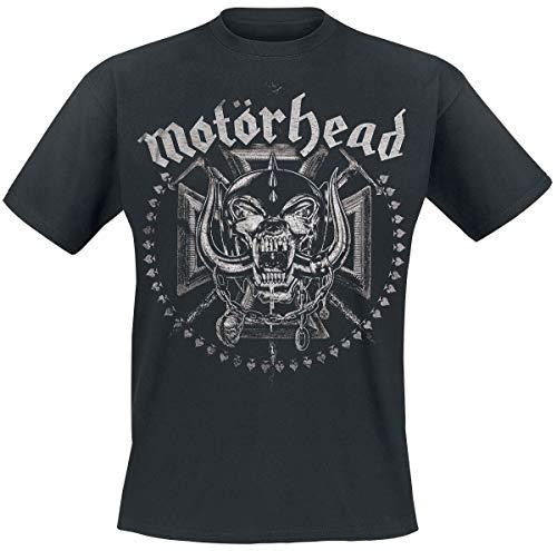 Motörhead Iron Cross Swords Männer T-Shirt schwarz XL 100% Baumwolle Band-Merch, Bands