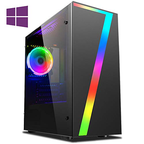 Vibox CX- 9 Gaming PC Computer with 2 Free Games, Windows 10 Pro OS (4.2GHz Intel i3 Quad-Core Processor, Nvidia GeForce GTX 1050 Ti Graphics Card, 8GB DDR4 2400MHz RAM, 1TB HDD)