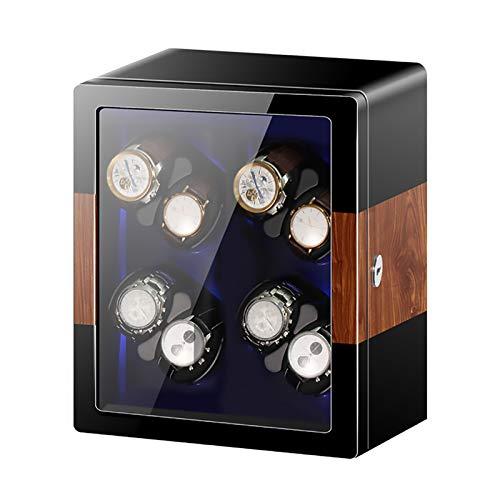 Reloj Windoer - Reloj mecánico automático Shaker Vertical Smart Windering Box Silent...