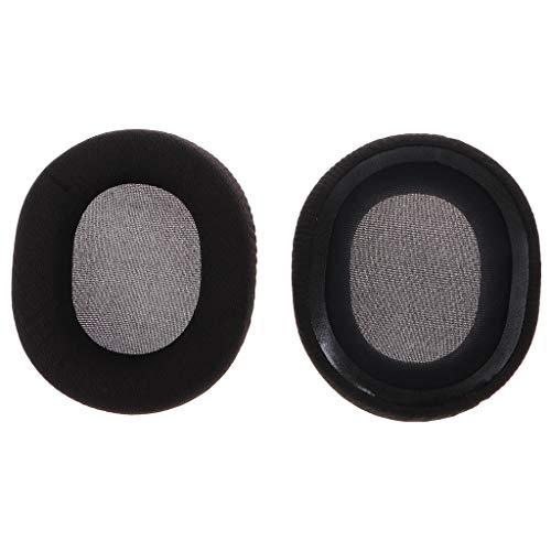 angwang Almofadas auriculares de espuma, almofadas de espuma, faixa de cabeça elástica de substituição para fones de ouvido SteelSeries Arctis 3/5/7