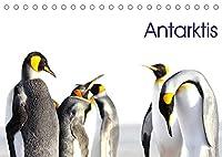 Antarktis - viaje.ch (Tischkalender 2022 DIN A5 quer): Landschaft und Tiere im ewigen Eis (Monatskalender, 14 Seiten )