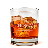 Personalised Whiskey Glass - Personalised Whisky Tumbler - Engraved Whisky Glass - Whiskey Gift Ideas - 40th Birthday...
