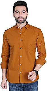 FIFTH ANFOLD Men's Slim Fit Casual Shirt