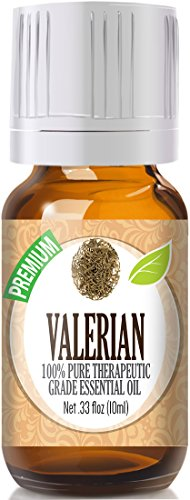 Valerian Essential Oil - 100% Pure Therapeutic Grade Valerian Oil - 10Ml