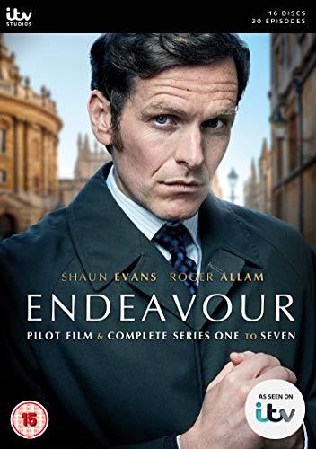 Endeavour - Pilot Film & Complete Series 1-7 [DVD 日本語無し] [Import][パソコンもしくはPAL対応のプレイヤーで再生可]