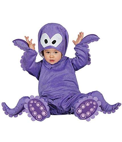 FIESTAS GUIRCA pulpitos Disfraz de Pulpo Baby, por 6-12 meses