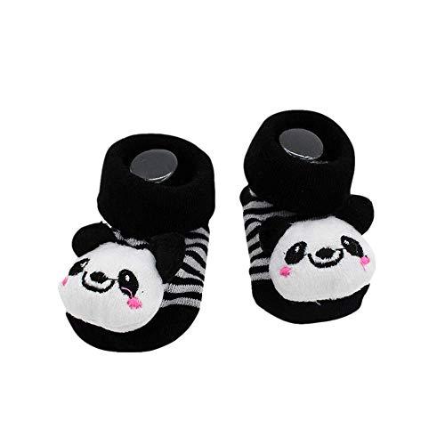 LEXUPE Karikatur-neugeborenes Baby-Jungen-rutschfeste Socken-Pantoffel-Schuh-Stiefel(I,Free Size)