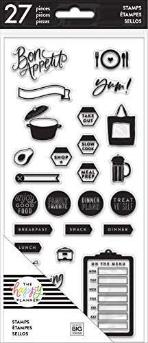 The Happy Planner - Clear Stamps - Recipe