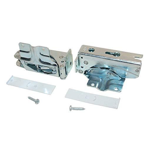 FIND A SPARE Bosch Lot de 2 charnières de porte pour réfrigérateur congélateur équivalent 481147 FP227