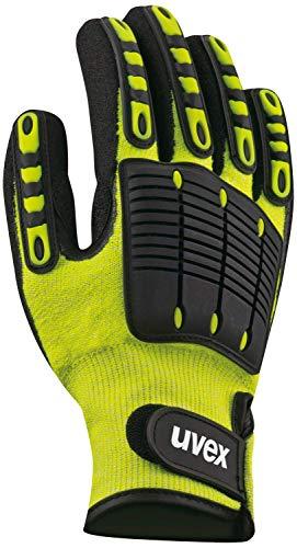 Uvex Synexo Impact 1 Schnittschutzhandschuhe - Gelb-Schwarz - Gr 10 (XL)