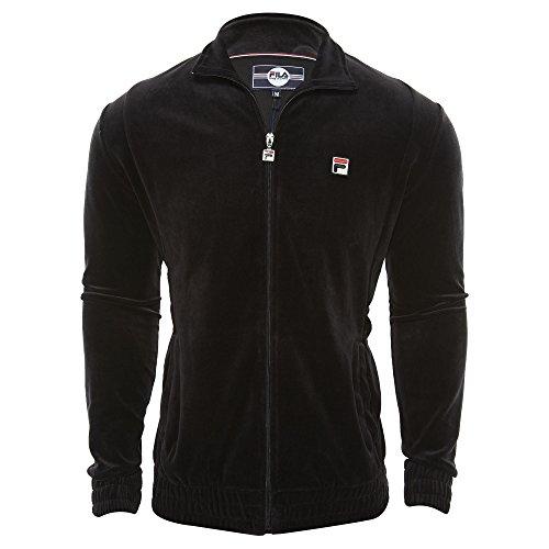 Fila Men's Velour Jackets Black X-Large