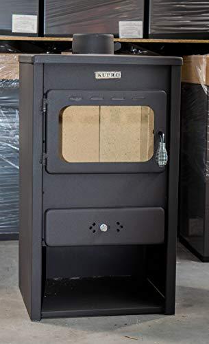 Quemador de leña Estufa de leña con tapa de hierro fundido Potencia de calefacción de 8,4 kw Modelo  KUPRO Style-cast