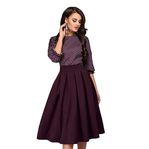 Quellfluss Women's Vintage Swing Casual Party Dress Floral...