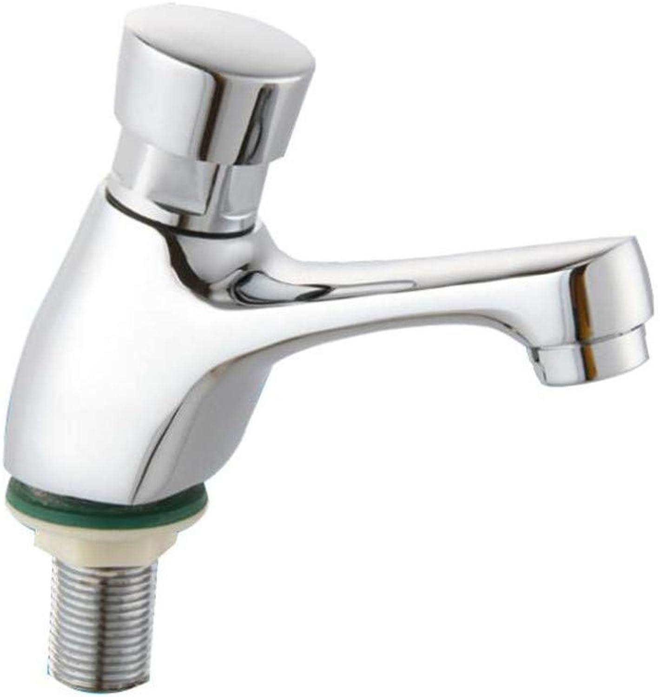 Waschbecken Messing Verzgerung Wasserhahn Hand-Typ Verzgerung Wasserhahn Becken Wasserhahn