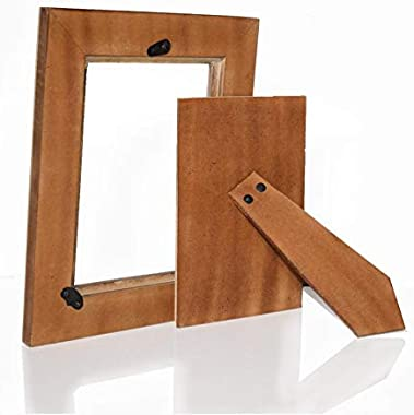 Hashcart Decorative Handcrafted Photo Frame/Table Top Picture Frame (Picture Size 5X7, with Stand)