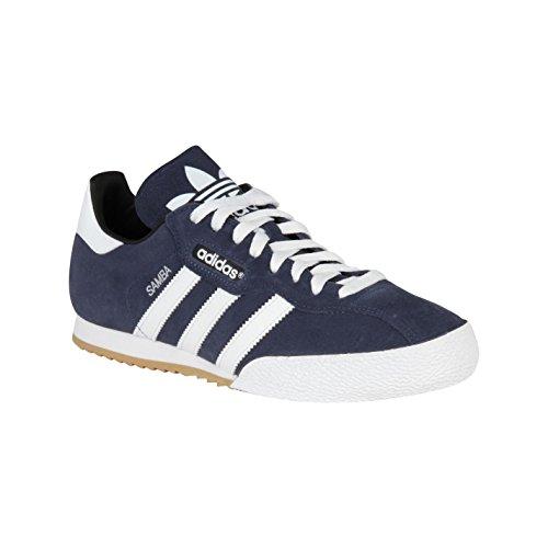 Adidas Originals Samba Super Suede Navy/White Mens Trainers (8 UK)