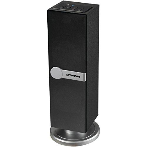 Sylvania SP269-Black Bluetooth Floor Standing Tower Speaker (Renewed)
