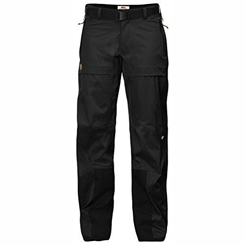 FJÄLLRÄVEN Keb Eco-Shell Trousers W Pantalon de Sport Femme, Black, FR : L (Taille Fabricant : L)