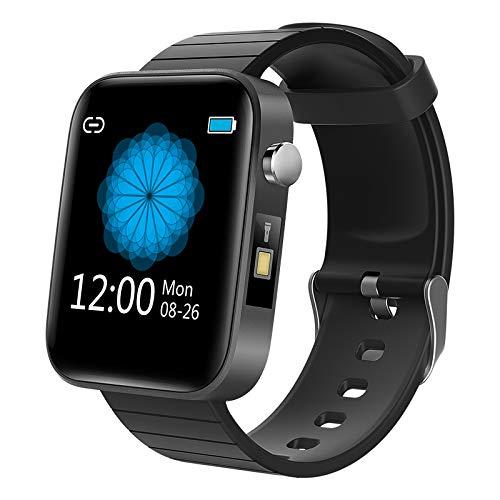 * Smartwatch, T68, Körpertemperaturmessung, Zinklegierung, IP67 wasserdicht, mehrere Sport-Modi, Taschenlampe, Smart-Sportarmband, Herzfrequenz, Blutdruck, Blutsauerstoff.