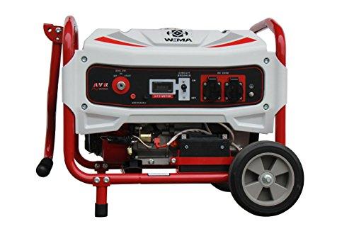 Weima WM5500BE 13 PS AVR 5500 W Benzinstromerzeuger Generator Notstromaggregat Stromaggregat 2 Jahren Garantie