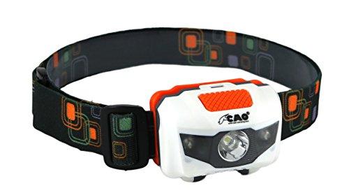 CAO Lampe Frontale Orange/Vert