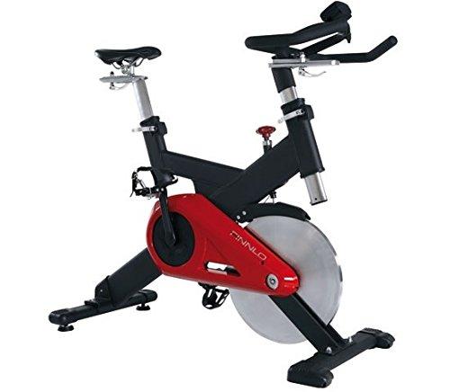 Finnlo Fitnessgerät Heimtrainer Cycle Speedbike CRT schwarz rot