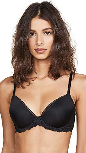 Calvin Klein Underwear Women's Seductive Comfort Demi Lift Multiway Bra, Black, 30C