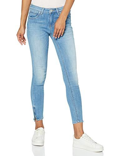 ONLY Damen Onlkendell Regsk Ank Zipjnscre85148 Noos Jeans, Blau (Light Blue Denim), 26W 30L EU