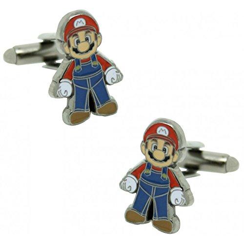 MasGemelos Manschettenknöpfe Mario Bros.