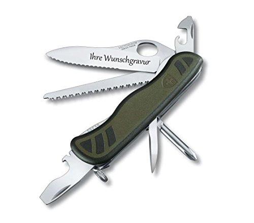 TR Victorinox Schweizer Soldatenmesser 08 mit persönlicher Gravur auf der Klinge