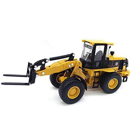 Xolye Alufelge Gabelstapler-Spielzeug-Kind-Geschenk-Spielzeug-Auto-Modell Simulation Technik LKW Transport Vehicle Deko-Sammlung