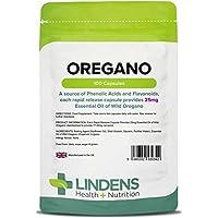 Lindens aceite de Orégano 25mg cápsulas paquete de 100GB Fabricante
