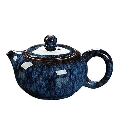 YJTGZ Tetera Tetera de Porcelana China Tetera de cerámica China Antigua Juego de té Kongfu Juego de té hervidor Retro Regalos Chinos