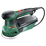 Bosch corded eccentric sander - PEX 300 AE (270W, delivered with storage case, 1 paper assistant, 1 G 80 sandpaper), Green