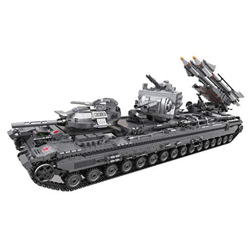 Seciie - Standmodellbau: Panzer in Grau, Größe 40 x 35 x 7cm