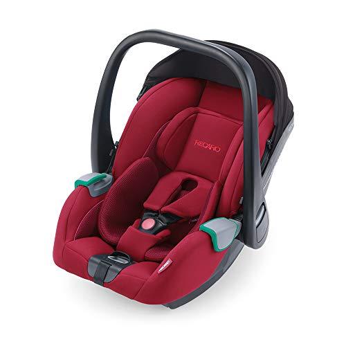 RECARO Kids, Babyschale Avan, i-Size 40-83 cm, Babyschale 0-13 kg, Kompatibel mit der Avan/Kio Base (i-Size), Verwendung mit Kinderwagen, Einfache Installation, Hohe Sicherheit, Select Garnet Red