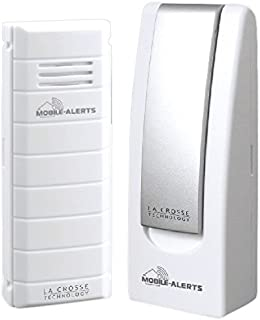 La Crosse Technology MA 10001 Mobile Alert Home Monitoring System Free App Control for iOS + Android Devices