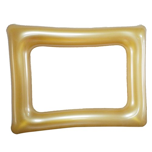 Toyvian Inflatable Blow Up Picture Frame Photo Booth Selfie Frame Prop for Party Decoration
