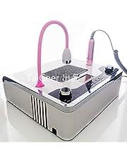 30000RPM Handpiece Nagel Stofzuiger stofafzuiging 108W LED UV-lamp 4 in 1 Elektrische Nail Machine van de Boor Nail File Tool Nail Art Equipment Kit,White