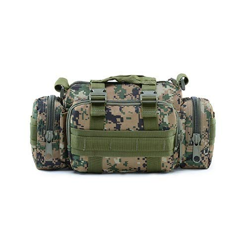 Best Review Of Rindasr Handbag, Outdoor Travel Hiking Water-Repellent Shoulder Bag, Multifunctional Riding Crossbody Bag (Color : B)