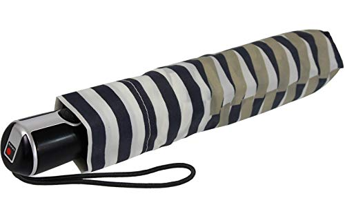 Knirps Regenschirm Taschenschirm Large Duomatic (Viper UV Creme)