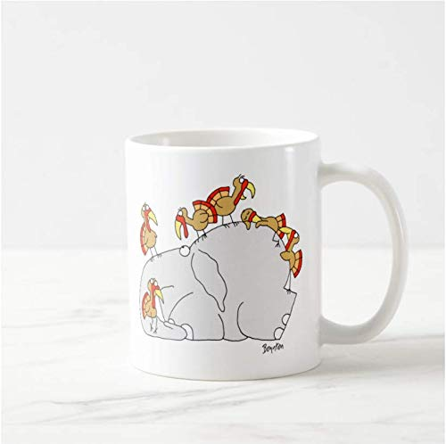 Don't Let the Turkeys Get You Down Ceramic Coffee/Tea/Cocoa Mug Unique Gift
