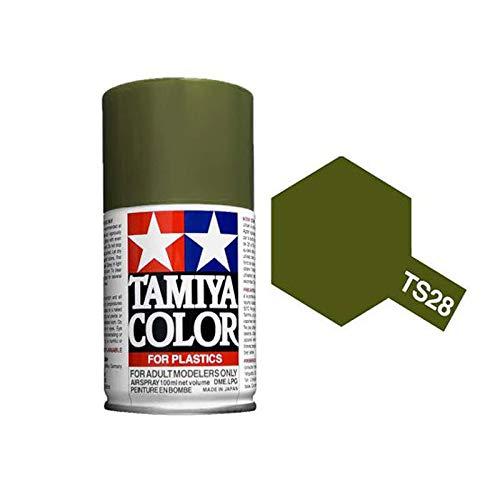 Tamiya 85028. Spray TS-28. Pintura esmalte color Verde Oliva 2