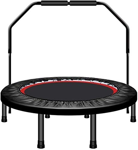 YWAWJ Round Trampoline, Fast Assembly Outdoor Trampoline for Kids Trampoline adult gym home children's indoor sports weight-loss equipment (Color : B, Size : 50 inches)