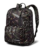 Columbia Sun Pass II Day Pack Laptop/Travel Backpack (One size, Black/camo)