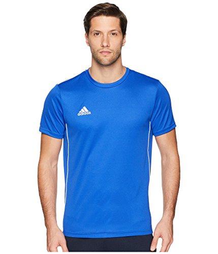 adidas Men's Core 18 Training Jersey, Bold Blue/White, Small