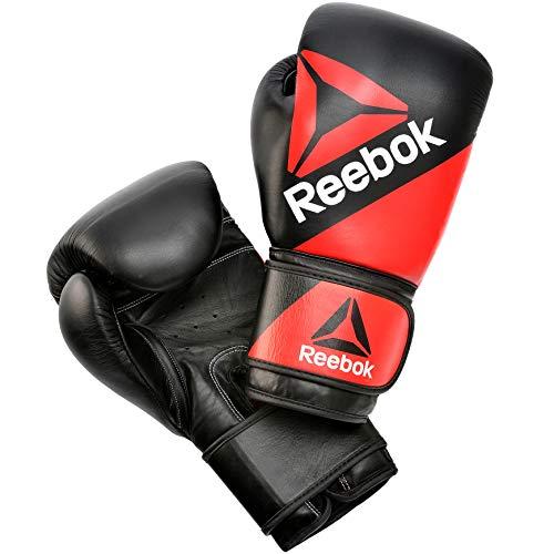 Reebok RSCB-10110RD-16 Guantes para Boxeo, Adultos Unisex, Rojo/Negro, 16 oz